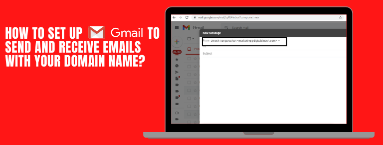 how to setup gmail to receive business email